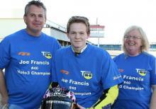 Motostar champ Francis struggling to fund 2014 ride