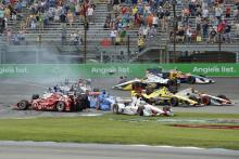 Castroneves' Indianapolis penalty amended