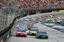 Bristol: Sprint Cup Series results