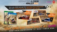 Sebastien Loeb Rally Evo lands
