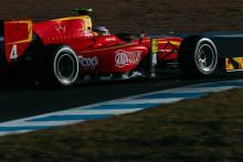 King braves it out for maiden GP2 win