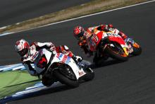 Alonso rides with Marquez at Honda Thanks Day