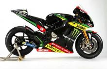 Monster Yamaha Tech 3 gets livery tweak with sponsor deal