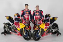 Hayden, Bradl launch new-look Red Bull Honda