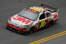 Biffle to back-up: I just killed the car!