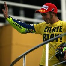 Valentino says 'Bye, Bye Baby'