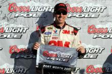 Biffle beats Ragan to Texas pole