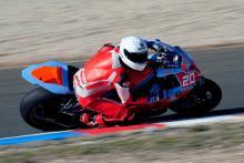 STK1000: Josh Elliott happy after Almeria test