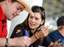Danica reveals she's dating fellow driver