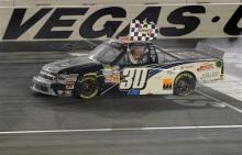 Trucks: Nelson Piquet Jr. wins at Las Vegas