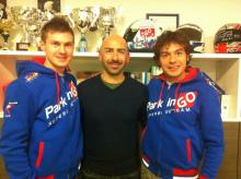 Iddon, Rolfo join ParkinGO MV Agusta effort