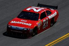 Gilliland gets ride with Wood Brothers