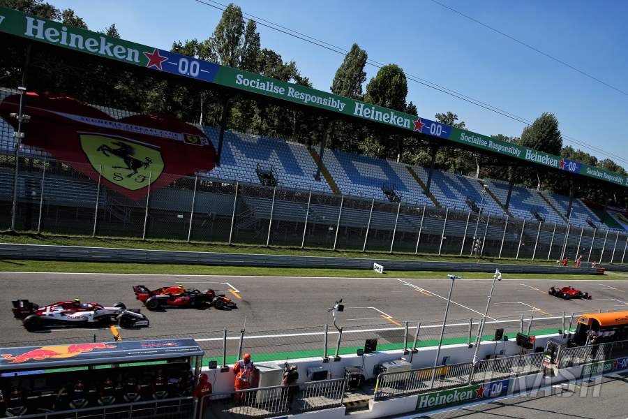 F1 Italian Grand Prix 2020 Qualifying Results
