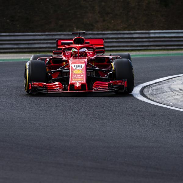 Giovinazzi notes 'dramatic' improvement in Ferrari car