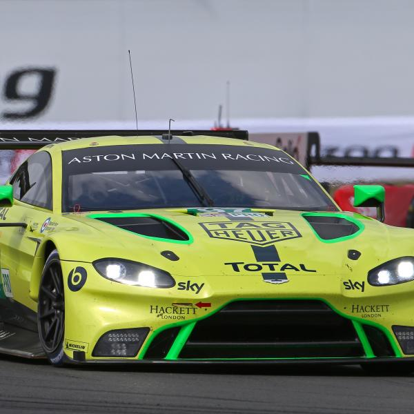 Lynn surprised by Aston Martin WEC progress with new car