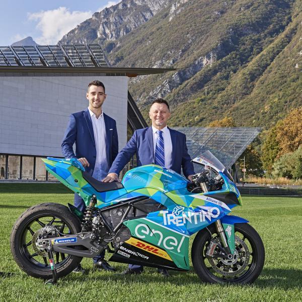 Gresini unveils MotoE project, Ferrari