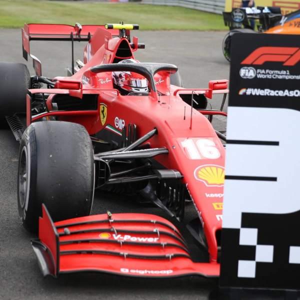 Brawn applauds Leclerc's 'hugely impressive' Silverstone podium