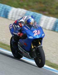 Hopkins, Jerez IRTA MotoGP Tests, 2004