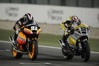 Marquez and Luthi, Qatar Moto2 Race 2012