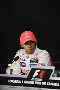 09.06.2012- Qualifying, Press conference, Lewis Hamilton (GBR) McLaren Mercedes MP4-27