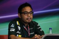 22.06.2012- Press conference, Riad Asmat (MAL) Caterham F1 Chief Executive Officer