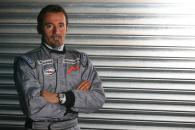 Max Biaggi tested with the Midland MF1 Toyota team at Silverstone