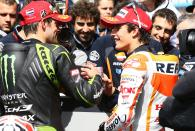 Crutchlow and Marquez, Dutch MotoGP 2013
