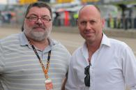 Julian Ryder and Toby Moody, German MotoGP 2013