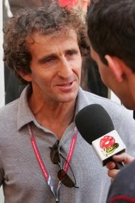 27.05.2006 Monte Carlo, Monaco, . Alain Prost (FRA), is interviewed - Formula 1 World Championship,