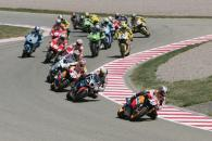 Pedrosa leads at start, German MotoGP Race 2006