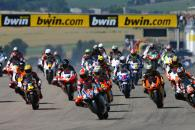 Start, German 250GP Race 2006