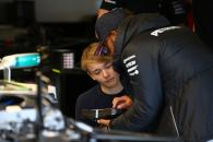 14.07.2017 - Billy Monger (GBR) and Lewis Hamilton (GBR) Mercedes AMG F1 W08