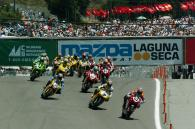 Start, WSBK Race 1 Laguna Seca, 2004