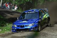 Petter Solberg (NOR) / Phil Mills (GBR), Subaru WRT Impreza WRC 2007. Rally Finland, 2nd-5th August