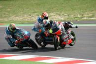 Faubel and Corsi crash, San Marino 125GP 2007
