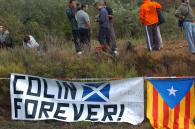 Colin McRae tribute. Rally Catalunya Costa Daurada, Spain. 5-7th Oct 2007.