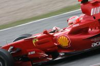 Michael Schumacher (GER) Ferrari F2007, Barcelona F1 Test, 13-15th, November, 2007