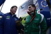 Malcolm Wilson (GBR), Ford/M-Sport Team Boss and Matthew Wilson (GBR), Stobart Ford Focus WRC 07. Ra