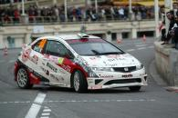 Luca Betti (ITA) / Giovanni Agnesi (ITA), Honda Civic Type-R. Rallye Monte Carlo, 24-27th January 20