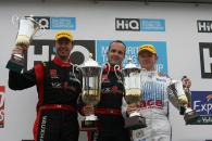 Podium Race 3, Matt Neal, Giovanardi and Jones