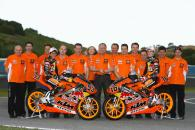 KTM team shoot, Jerez 125/250GP Test 2009
