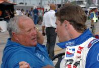 Indy Racing League. 20-21 June 2009. Iowa Corn 250. Iowa Speedway. Newton, Iowa USA. A.J. Foyt and