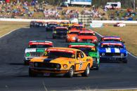 Drew Marget, Ford Mustang Trans Am Binate Touring Car Masters Rd 4 Qld House and Land.com300 Qld