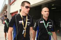 Spies, discussing the quality of the track, Imola WSBK 2009