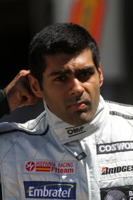 Friday Practice 2, Karun Chandhok (IND), Hispania Racing F1 Team (HRT), F110