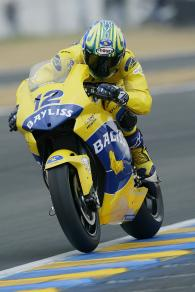 Bayliss, French MotoGP, 2005