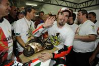Biaggi, World Superbike Champion 2010, Imola WSBK Race 2 2010