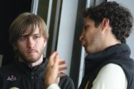 13.02.2011- Nick Heidfeld (GER), Testing for Lotus Renault GP and Bruno Senna (BRA), Test Driver, Lo