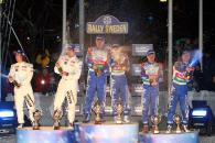 Podium Rally Sweden,