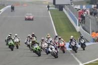Haslam, Race Start, Donington WSBK Race 2 2011